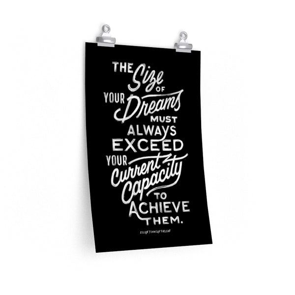 The Size Of Your Dreams — Ellen Sirleaf Johnson Print