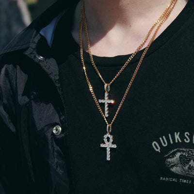 Cross & Ankh Pendant Bundle