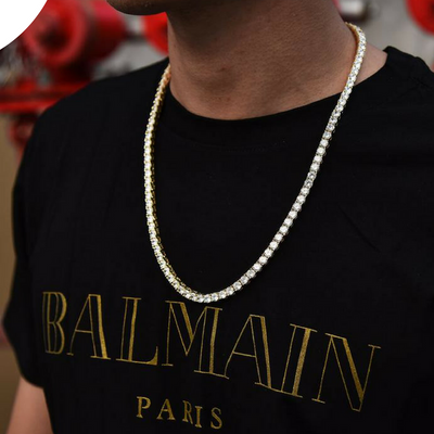 5mm Gold Tennis Chain