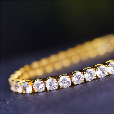 5mm Gold Tennis Bracelet