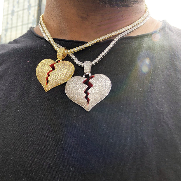 Heart Break Pendant