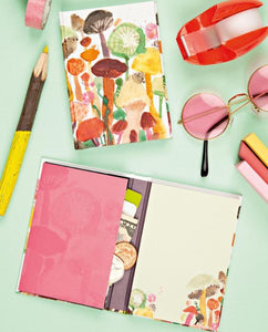 NEW from teNeues: Mini Sticky Books! Artsy Sticky Notes in a Hardcover Wallet with Folded Pocket