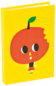 apple girl mini sticky note book