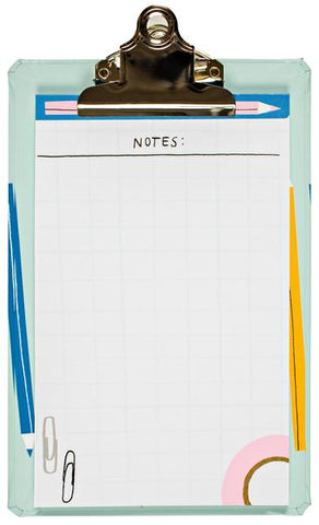 Pencil Sketch Mini Clipboard as seen in Stationery Trends