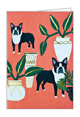 Dogs n' Plants Luxe Foil Notecards