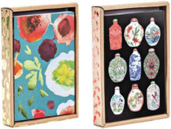 Sprout + Bloom, Vintage China Luxe Foil Notecard Boxes