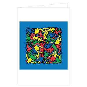 Keith Haring Notecard Box