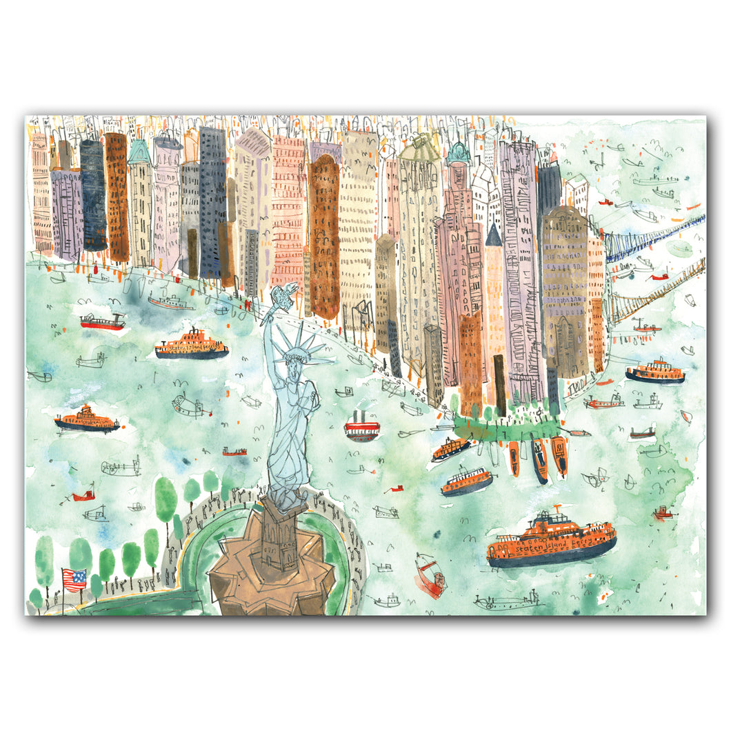 New York, New York Notecard Box