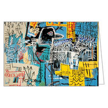 Jean-Michel Basquiat FlipTop Notecard Box
