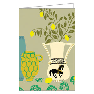 Modern Botanicals FlipTop Notecard Box
