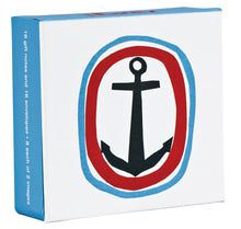 Ahoy! Mini FlipTop Notecard Box