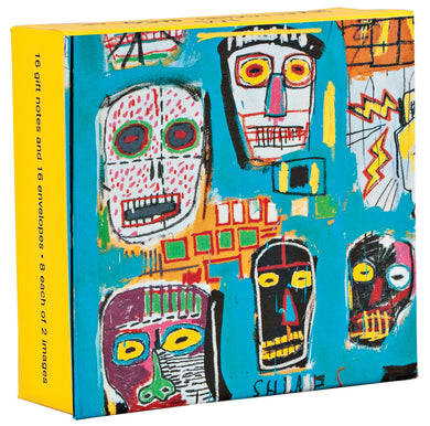 Jean-Michel Basquiat Mini FlipTop Notecard Box