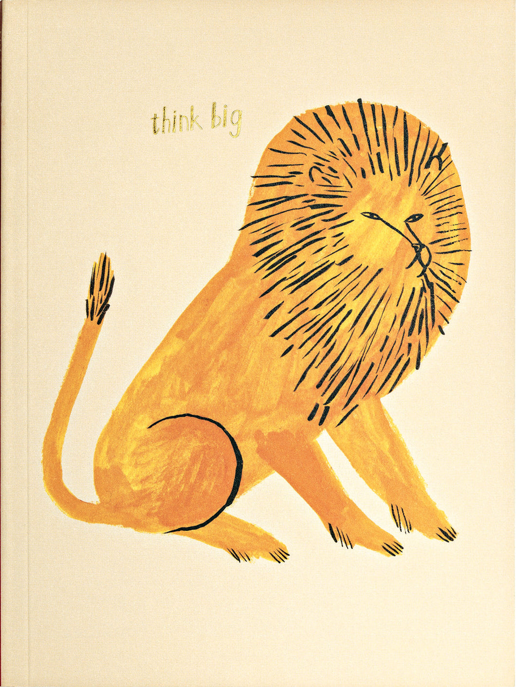Big Cat Lion GreenJournal