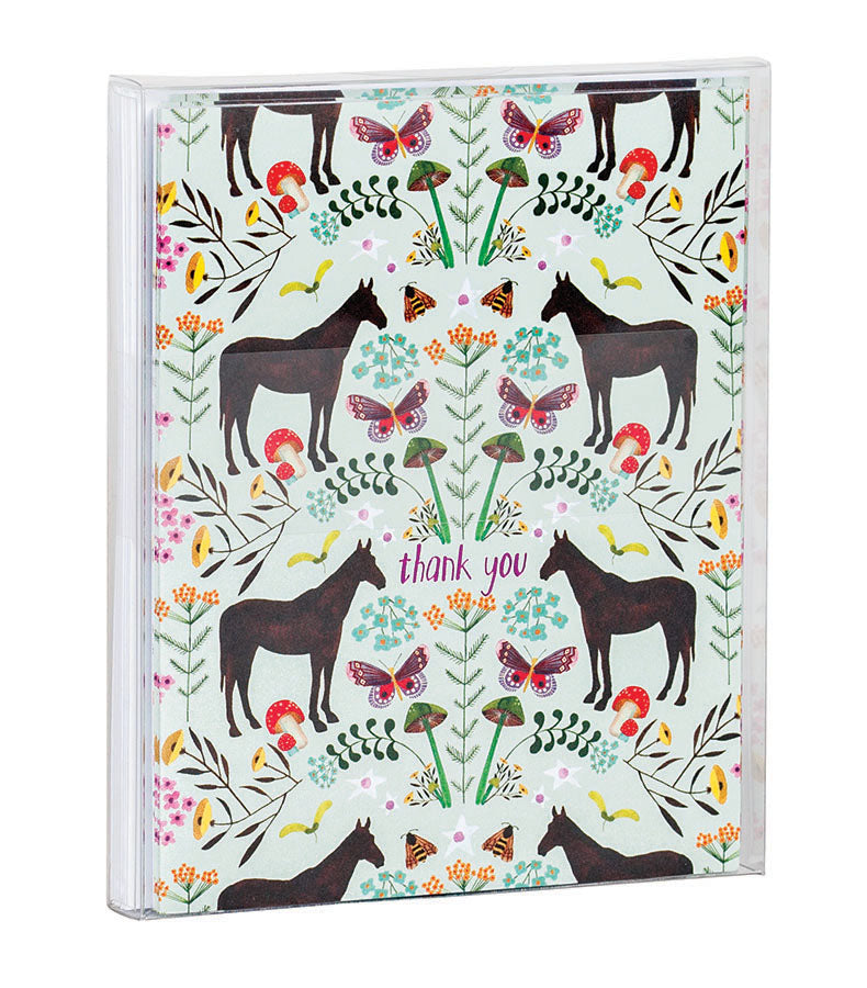 Magical Meadow Thank You Notecard Set