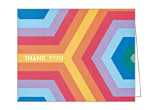 Over the Rainbow Thank You Notecard Set