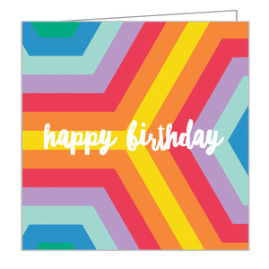 Over the Rainbow Mini FlipTop Notecard Box