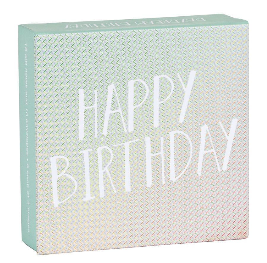 Daydream Birthday Mini FlipTop Notecard Box