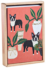 Dogs 'n' Plants Luxe Foil Notecard Box