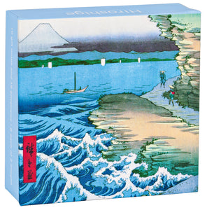 Hiroshige Mini FlipTop Notecard Box
