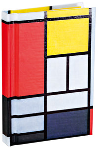 Piet Mondrian Mini Notebook