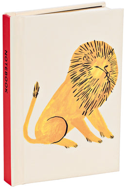 Big Cat Lion Mini Notebook