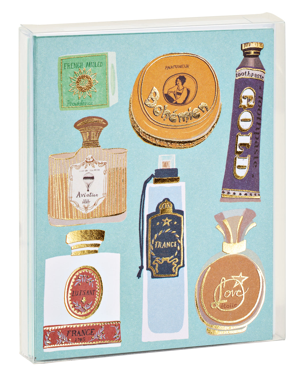 Belle Époque Notecard Set