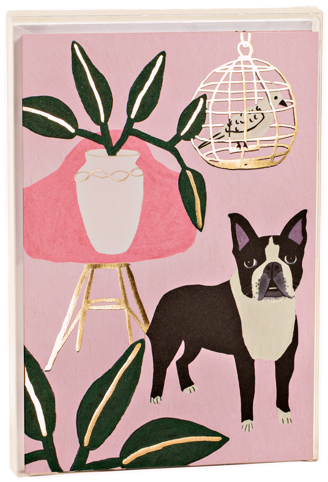 Dog + Bird, Big Notecard Set