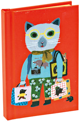Cat Tourist Mini Notebook