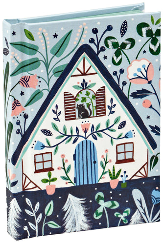 Black Cat Cottage Mini Notebook