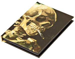 Head of a Skeleton with a Burning Cigarette by Vincent van Gogh, Mini Notebook