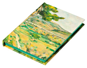 Mont Sainte-Victoire by Paul Cezanne Mini Notebook