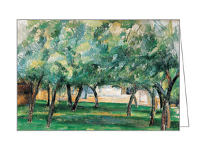 Cezanne Landscapes FlipTop Notecard Box