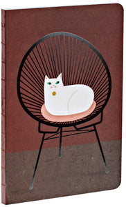 Chair Loaf A5 Notebook with glossy accents and dotted grid pages