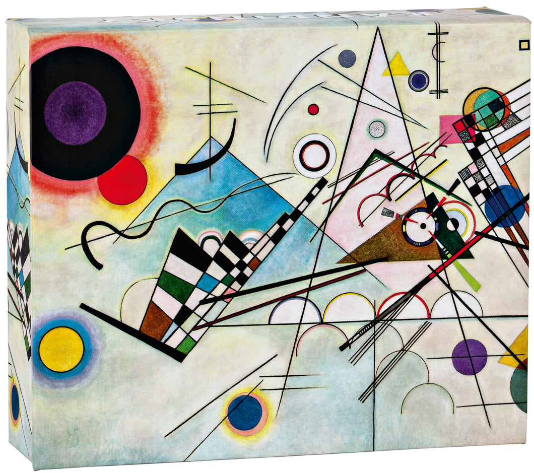 Kandinsky, Copmosition 8, QuickNotes notecard collection in a gift box with magnetic closure
