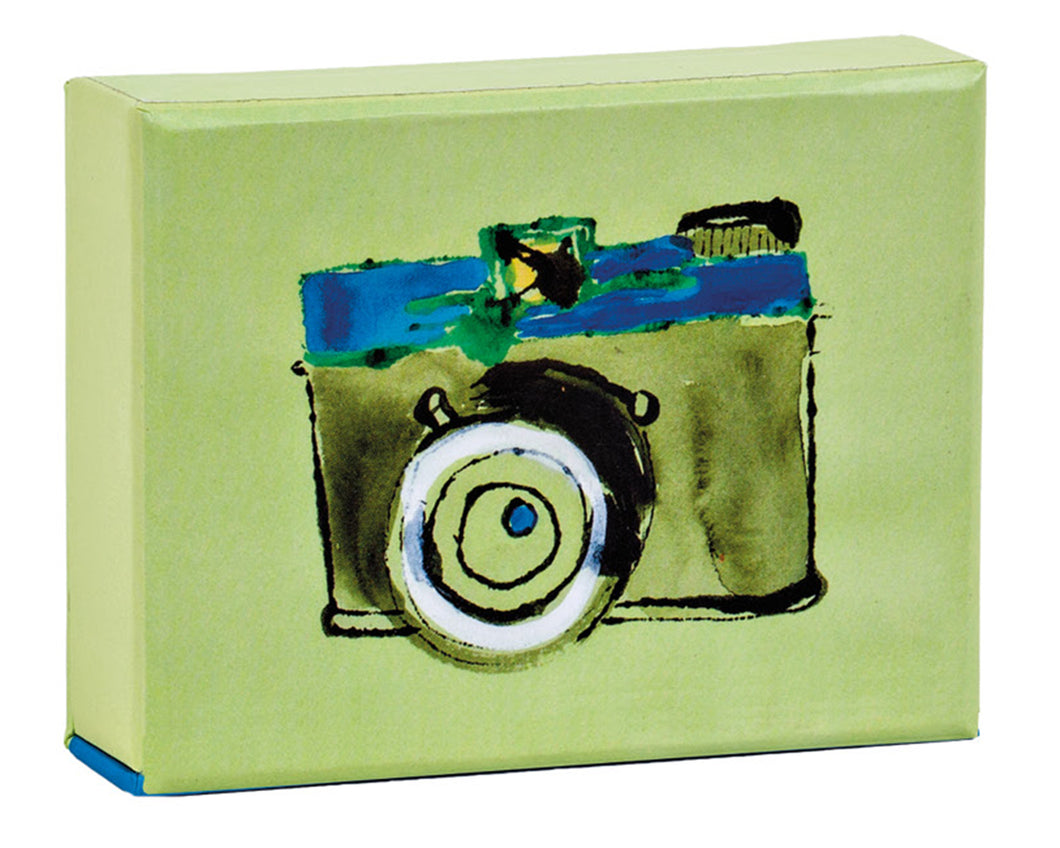 Watercolor Camera Playing Cards