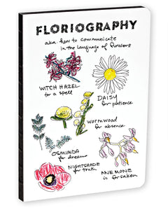 Floriography A5 Notebook