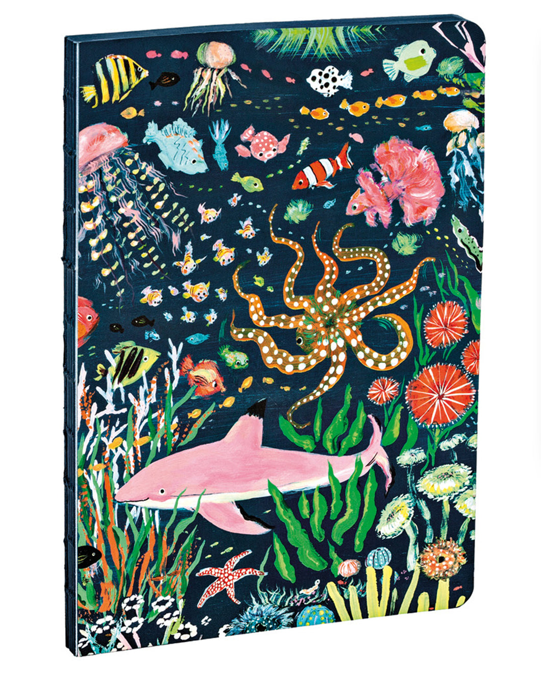 Pink Shark A5 Notebook
