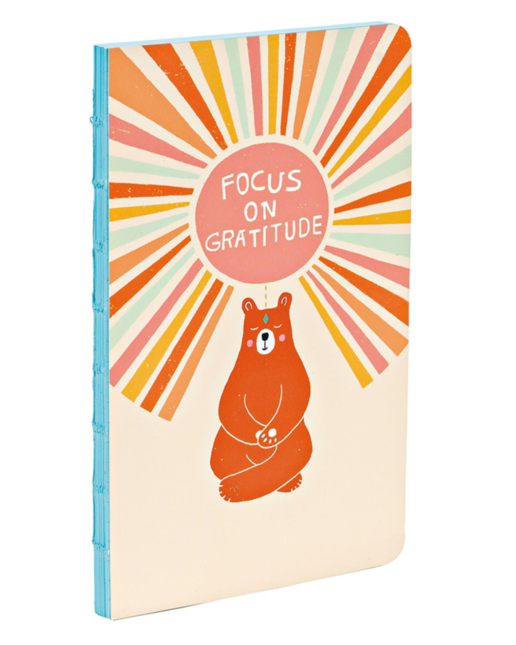 Gratitude Bear Small Bullet Journal