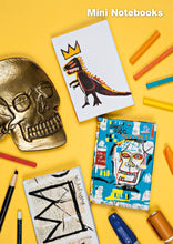 Jean-Michel Basquiat Mini Notebook, Dino (Pez Dispenser)
