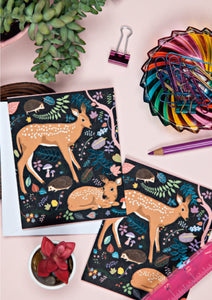 Fawns Notecard Set