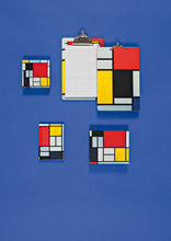 Piet Mondrian Mini FlipTop Notecard Box