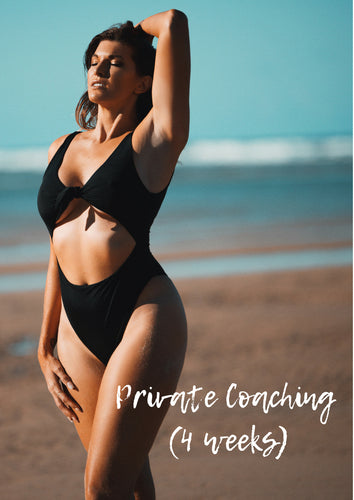 Private Coaching (4 weeks) - Plant Based Babes