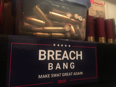 Breach and Bang 2020 Sticker