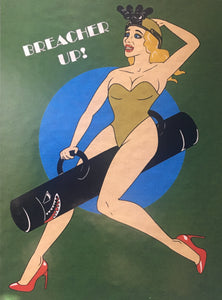 Betty Breacher Sticker