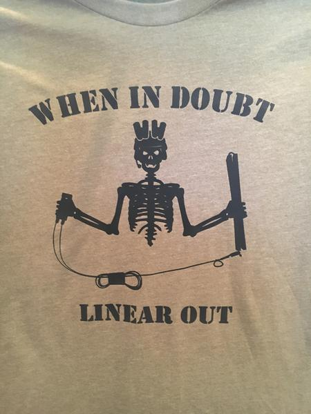 When in Doubt Linear Out - T-Shirt