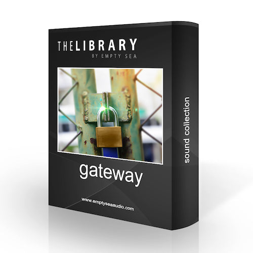 The Library by Empty Sea Gateway Sound Effects Library Audio Post Production SFX Game Field Recording