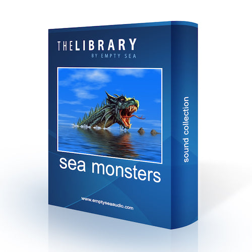 The Library by Empty Sea Sea Monsters Sound Effects Library Audio Post Production SFX Game Field Recording