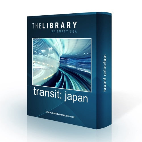 The Library by Empty Sea Transit Japan Sound Effects Library Audio Post Production SFX Game Field Recording
