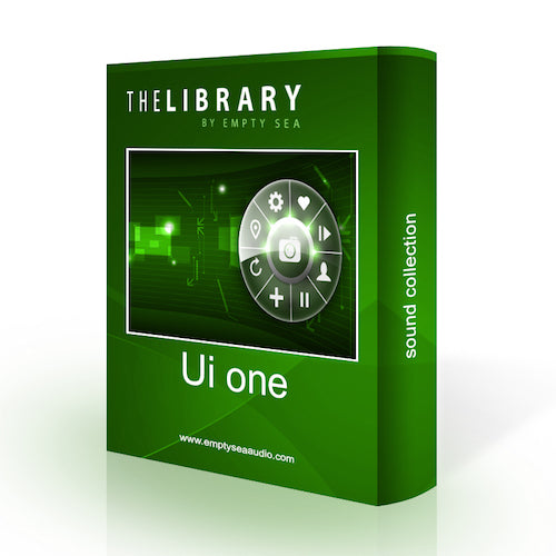 The Library by Empty Sea UI One Sound Effects Library Audio Post Production SFX Game Field Recording