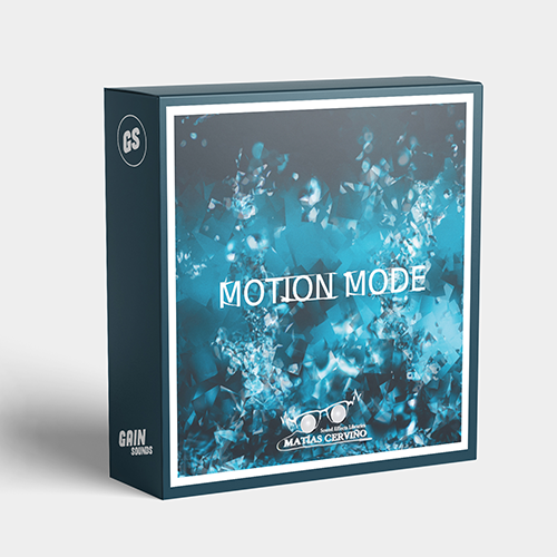 Gain Sounds Matias Mac Motion Mode SFX Libraries Cover Sound Effects Audio Post Production